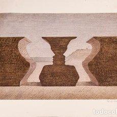Arte: SUBIRACHS - LITOGRAFIA ORIGINAL. Lote 248740835
