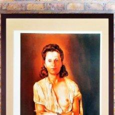 Arte: SALVADOR DALI.LITOGRAFIA- GALARINA- EDICIÓN LIMIT Nº129 DE 200, 1981 FIRMADA Y NUMERADA LAPIZ, 50X40. Lote 252407685