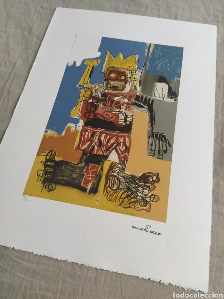 Arte: Jean-Michel Basquiat - Litografía numerada (248/250) - 50 x 70 cm - Foto 3 - 252418665
