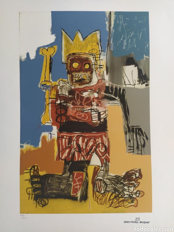 Arte: Jean-Michel Basquiat - Litografía numerada (248/250) - 50 x 70 cm - Foto 4 - 252418665
