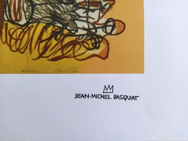 Arte: Jean-Michel Basquiat - Litografía numerada (248/250) - 50 x 70 cm - Foto 6 - 252418665