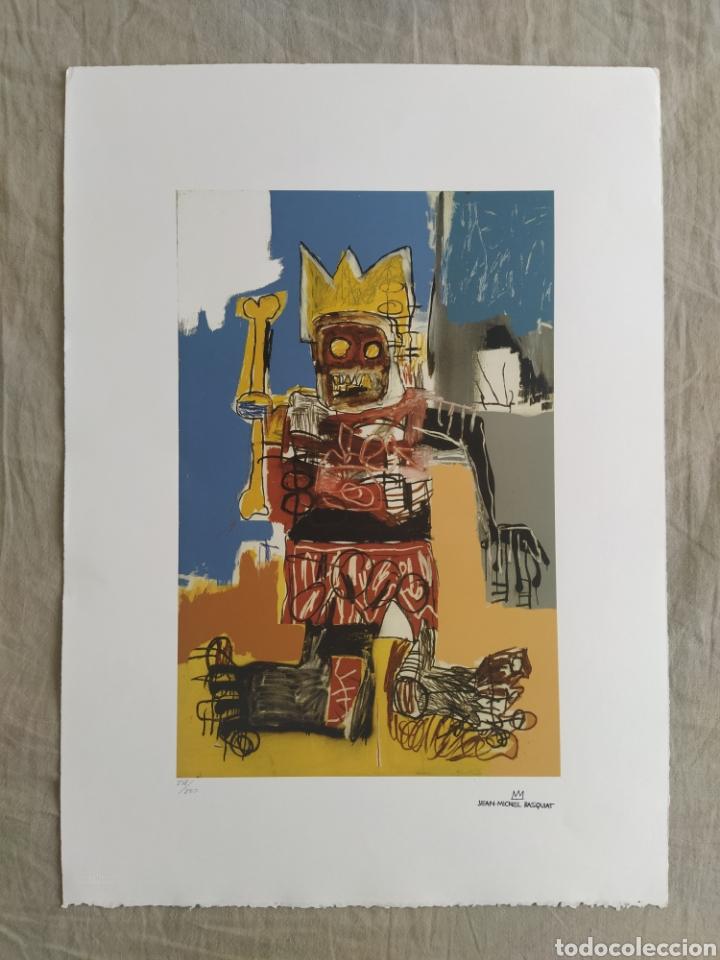 Arte: Jean-Michel Basquiat - Litografía numerada (248/250) - 50 x 70 cm - Foto 2 - 252418665