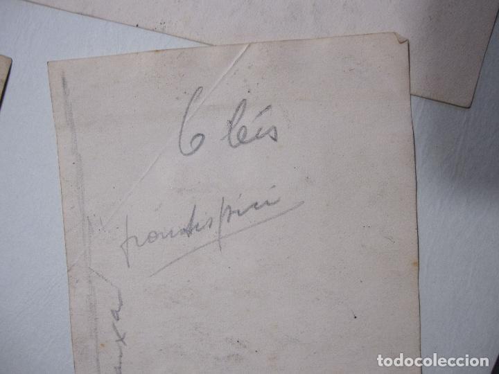 Arte: JOAN PALET BATISTE. 6 LITOGRAFIAS ILUMINADAS A MANO. 1942. 13 X 8,5 CM. FIRMADAS Y FECHADAS - Foto 11 - 252773260