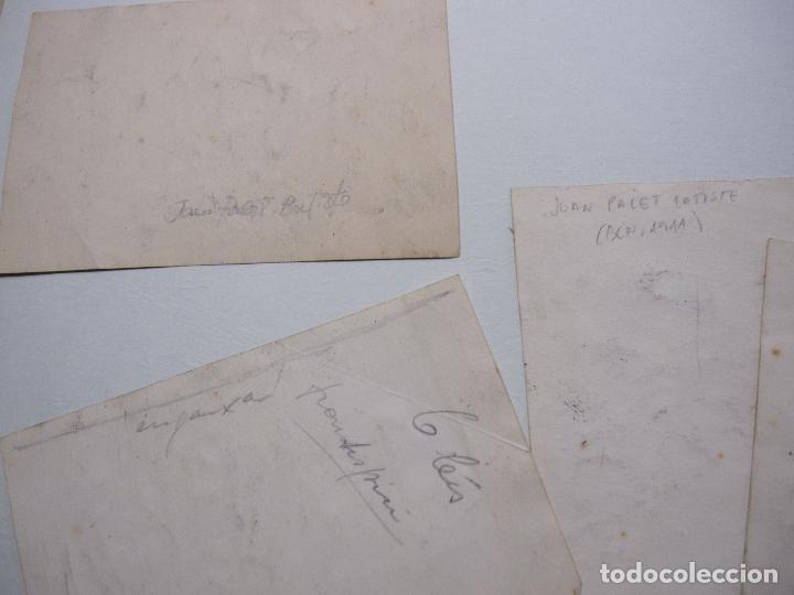 Arte: JOAN PALET BATISTE. 6 LITOGRAFIAS ILUMINADAS A MANO. 1942. 13 X 8,5 CM. FIRMADAS Y FECHADAS - Foto 12 - 252773260
