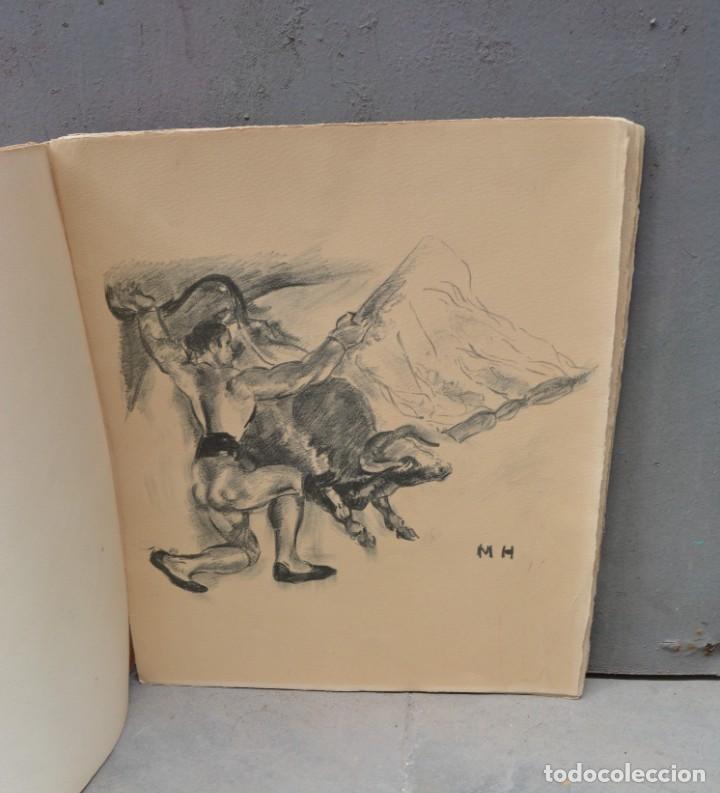 Arte: 5 litografías de Manolo Hugué. 38x32cm - Foto 3 - 253647715