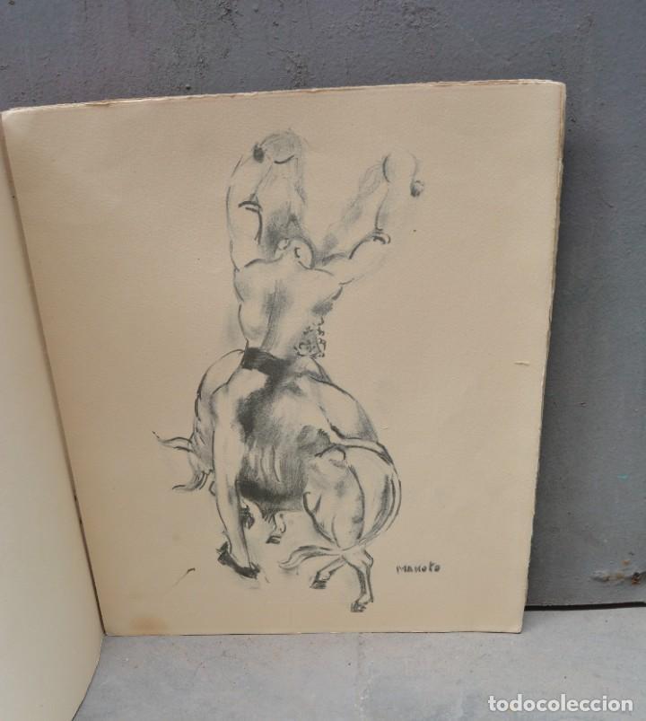Arte: 5 litografías de Manolo Hugué. 38x32cm - Foto 4 - 253647715