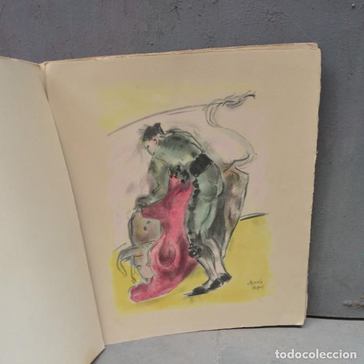 Arte: 5 litografías de Manolo Hugué. 38x32cm - Foto 5 - 253647715