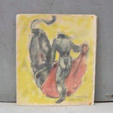Arte: 5 LITOGRAFÍAS DE MANOLO HUGUÉ. 38X32CM. Lote 253647715