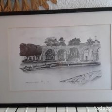Arte: LITOGRAFIA DEL ARTISTA MEXICANO EDUARDO PALAFOX.. Lote 254814040