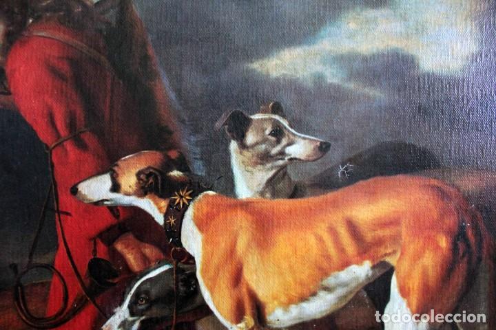 Arte: The Hunter, Adriaen Cornelisz Beeldemaker. Impresión sobre lienzo. 72x55cm - Foto 3 - 254920410