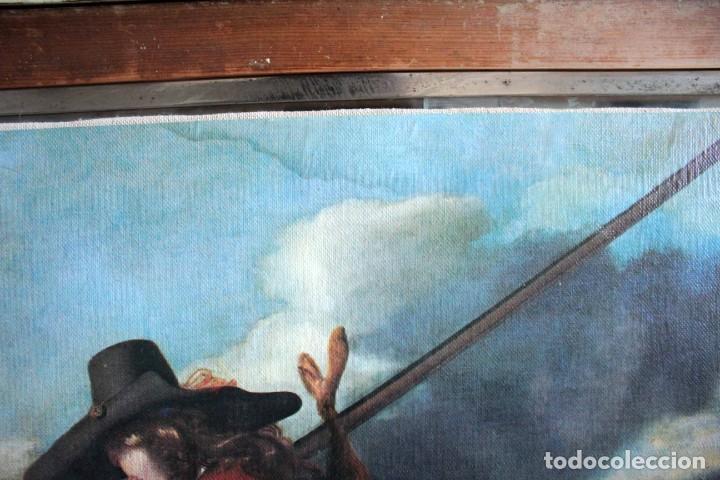 Arte: The Hunter, Adriaen Cornelisz Beeldemaker. Impresión sobre lienzo. 72x55cm - Foto 7 - 254920410