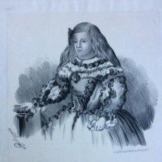Arte: INFANTA MARGARIDA THEREZA, HERMANA DE CARLOS II, REY DE ESPAÑA. Lote 254957460