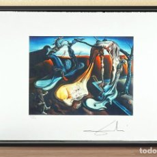 Arte: SALVADOR DALI. ARAÑA DE LA TARDE. LITOGRAFÌA EDICION LIMT Nº CCXX DE 2000,FIRMADA Y NUMERADA A MANO,. Lote 255306590