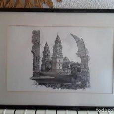 Arte: LITOGRAFÍA DEL ARTISTA MEXICANO EDUARDO PALAFOX. Lote 255370700