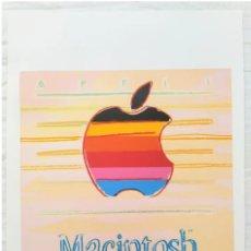 Art: ANDY WARHOL -APPLE MACINTOSH- EDICIÓN LIMITADA 34 DE 100. FIRMADA Y NUMERADA. TAMAÑO 57CM X 38 CM. Lote 255577010