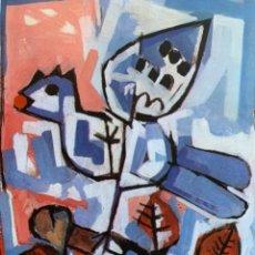 Arte: LITOGRAFÍA DE GARCÍA LLORT CON DEDICATORIA NUMERADA 99 DE 100 Y FIRMADA A LAPIZ 1984. Lote 256025870