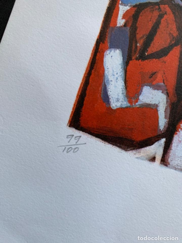 Arte: LITOGRAFÍA + LIBRO DE GARCÍA LLORT CON DEDICATORIA NUMERADA 99 DE 100 Y FIRMADA A LAPIZ 1984 - Foto 3 - 256025870