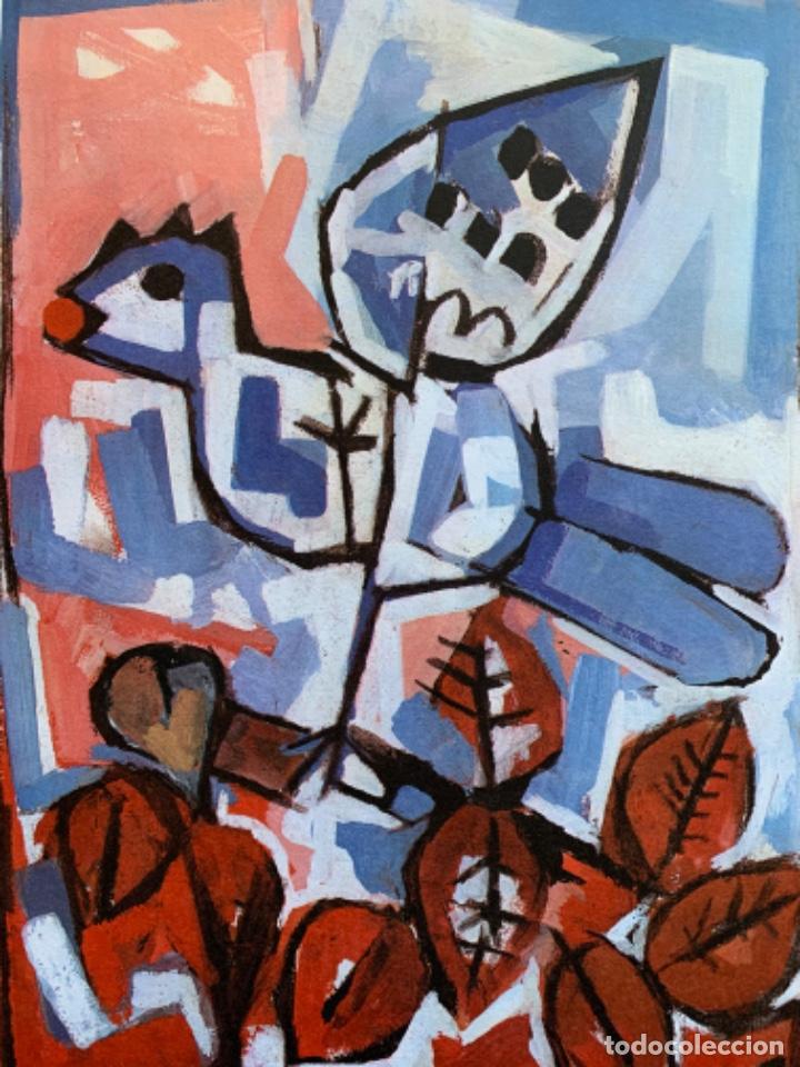 Arte: LITOGRAFÍA + LIBRO DE GARCÍA LLORT CON DEDICATORIA NUMERADA 99 DE 100 Y FIRMADA A LAPIZ 1984 - Foto 5 - 256025870