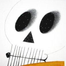 Arte: ARTUR HERAS AGUAFUERTE ORIGINAL FIRMADO LÁPIZ CARPETA POEMA TIRANT LO BLANCH AUSIÀS MARCH 1397-1997. Lote 257356710