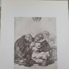 Arte: LITOGRAFIA DE GOYA. CONSULTA MEDICA. 114 (INV 404) 192X151 DEL ÁLBUM DE BURDEOS 1824-1828. Lote 258863780