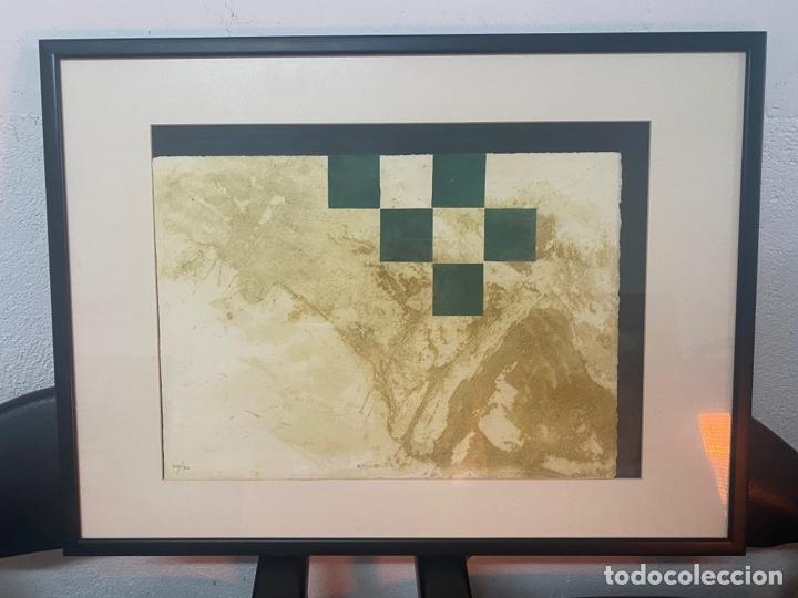 LITOGRAFÍA FIRMADA POR ELENA JIMÉNEZ (Arte - Litografías)