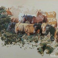 Arte: CABALLOS DE FERIA ALFREDO ENGUIX (MADRID - GIJÓN - ASTURIAS). Lote 260078165