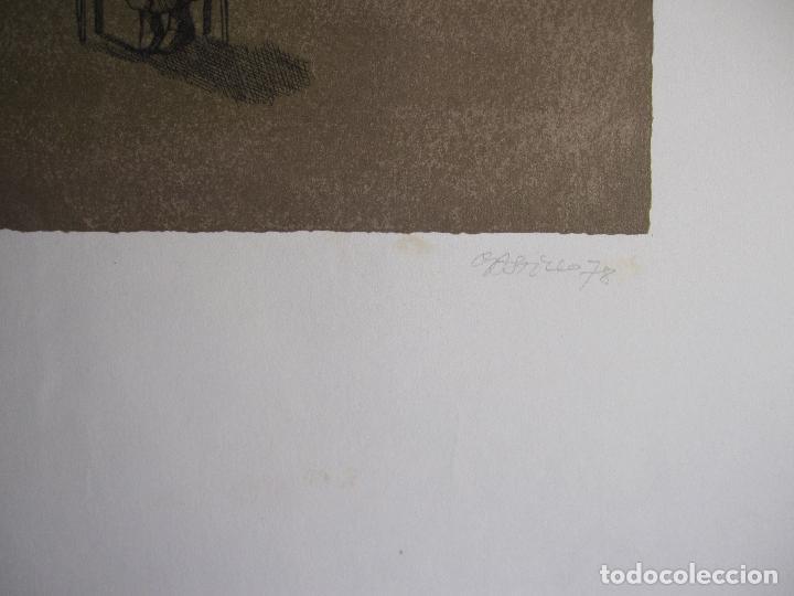 Arte: JORGE CASTILLO. EL ARBOL Y EL LIBRO. 1978. LITOGRAFIA. FIRMADA. NUMERADA 271/ 1500 - Foto 7 - 260078920