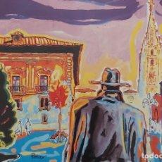 Arte: JOSÉ VIVANCOS (CARTAGENA - MADRID - OVIEDO - ASTURIAS) PLAZA PORLIER. Lote 260080535