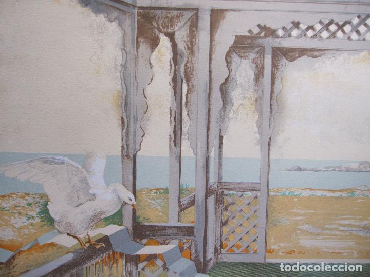 Arte: RAMON PUJOL BOIRA. LITOGRAFIA NUMERADA 20, EDICIÓN DE 99 EJEMPLARES. PAPEL ARCHES. 53,5 X 74 CM - Foto 6 - 260390830