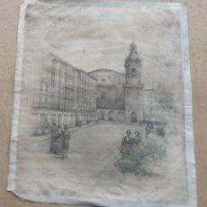 Arte: IGLESIA SAN NICOLÁS – BILBAO LITOGRAFÍA (ESO ME PARECE). Lote 260494870