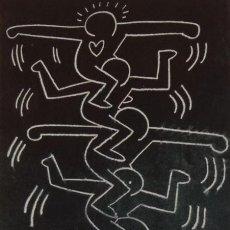 Art: KEITH HARING, EDICIÓN LIMITADA (PICASSO BANKSY MIRÓ DALI CHILLIDA). Lote 287869913