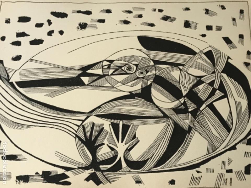 Arte: LITOGRAFÍA DE JOSEP MARÍA GARCÍA LLORT 1966. - Foto 3 - 261852725