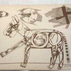 Arte: LITOGRAFÍA DE JOSEP MARÍA GARCÍA LLORT.. Lote 262188905