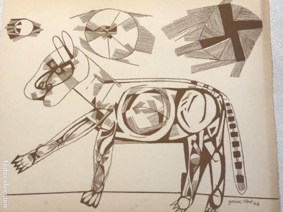 Arte: LITOGRAFÍA DE JOSEP MARÍA GARCÍA LLORT. - Foto 2 - 262188905