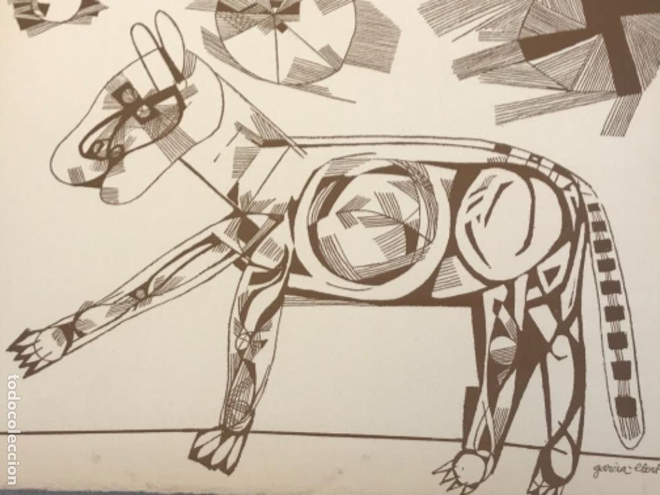 Arte: LITOGRAFÍA DE JOSEP MARÍA GARCÍA LLORT. - Foto 3 - 262188905