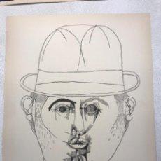 Arte: LITOGRAFÍA DE JOSEP MARÍA GARCÍA LLORT.. Lote 262189445