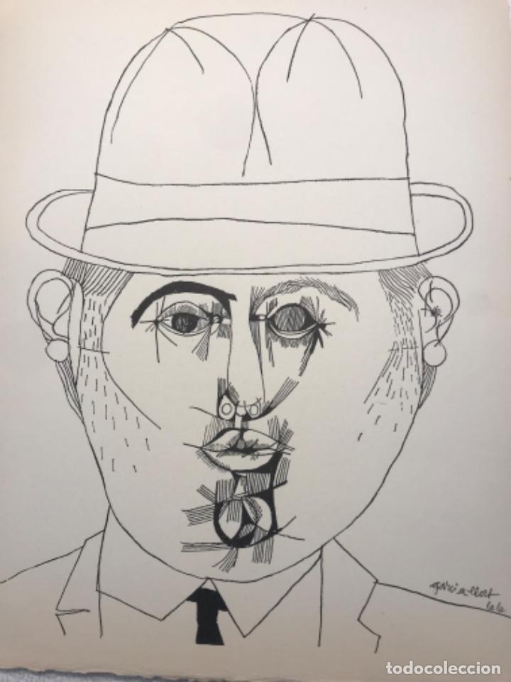 Arte: LITOGRAFÍA DE JOSEP MARÍA GARCÍA LLORT. - Foto 2 - 262189445