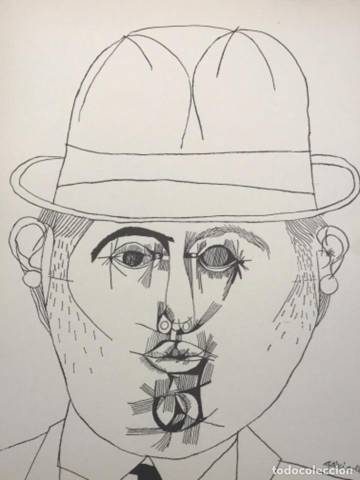 Arte: LITOGRAFÍA DE JOSEP MARÍA GARCÍA LLORT. - Foto 3 - 262189445