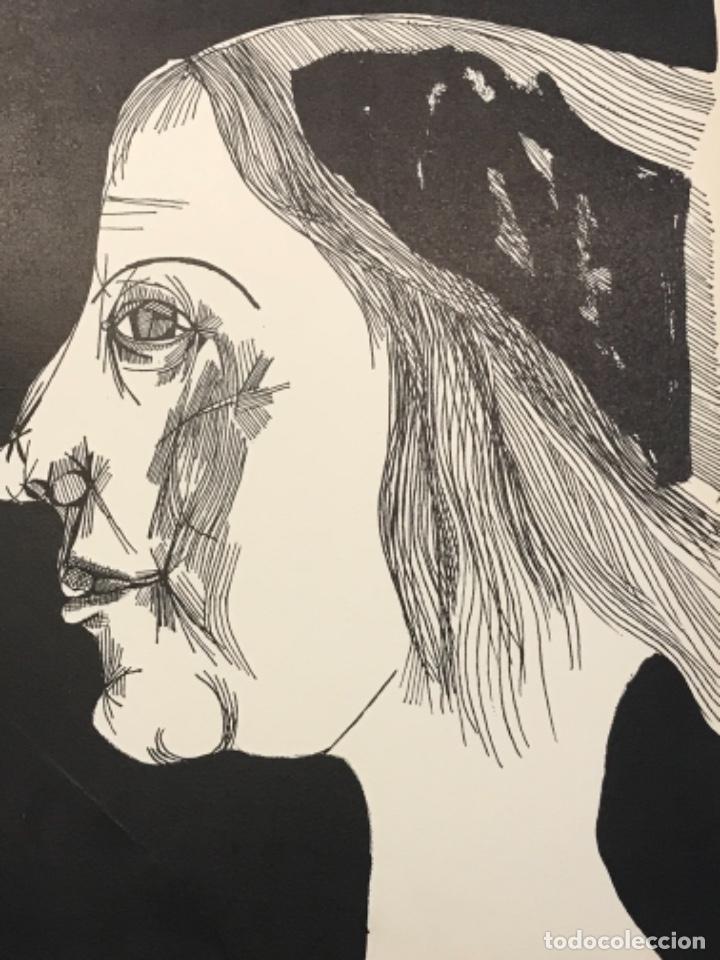 Arte: LITOGRAFÍA DE JOSEP MARÍA GARCÍA LLORT. - Foto 3 - 262189960