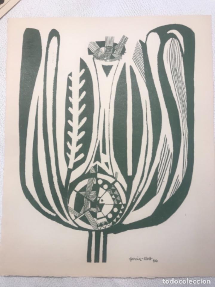 LITOGRAFÍA DE JOSEP MARÍA GARCÍA LLORT. (Arte - Litografías)