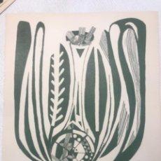 Arte: LITOGRAFÍA DE JOSEP MARÍA GARCÍA LLORT.. Lote 262190895