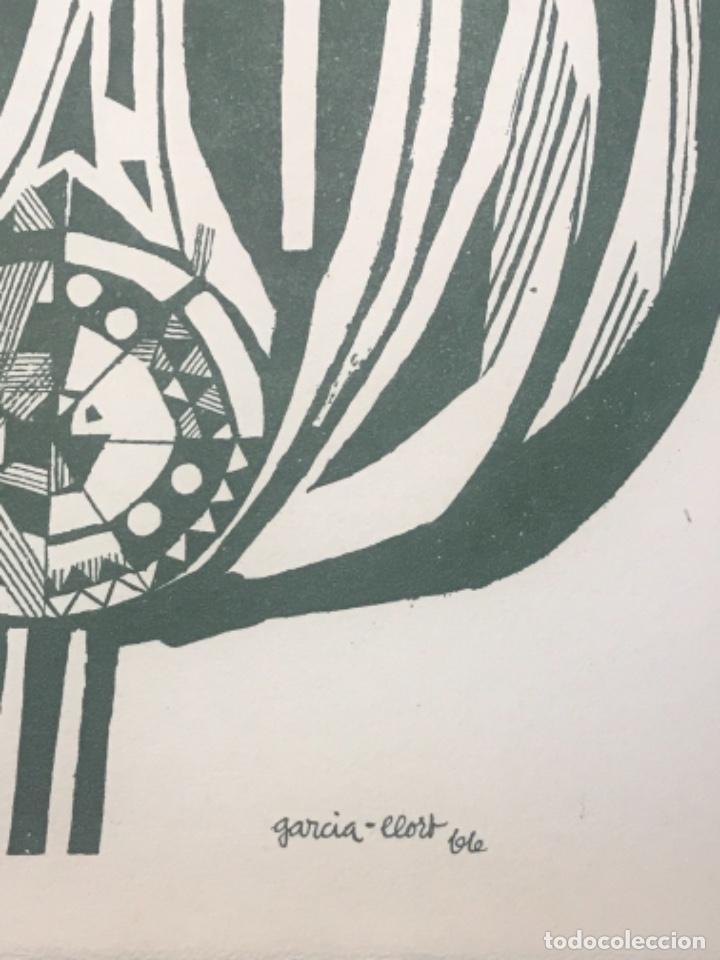 Arte: LITOGRAFÍA DE JOSEP MARÍA GARCÍA LLORT. - Foto 3 - 262190895