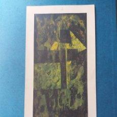 """Arte: ANTONI TÀPIES"""" CREU I TERRA"""" LITOGRAFIA 1975. Lote 262679520"""