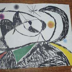 Arte: LITOGRAFIA JOAN MIRO LEXATIN ROCHE.. Lote 262680440