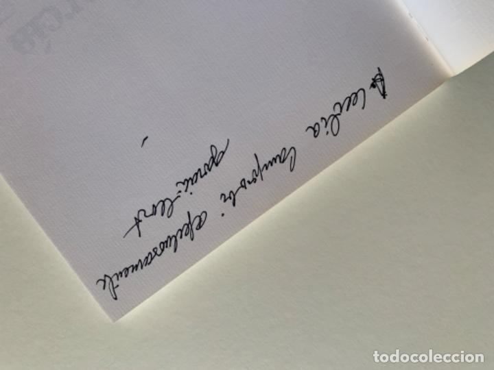 Arte: LITOGRAFÍA + LIBRO DE GARCÍA LLORT CON DEDICATORIA NUMERADA 99 DE 100 Y FIRMADA A LAPIZ 1984 - Foto 8 - 256025870