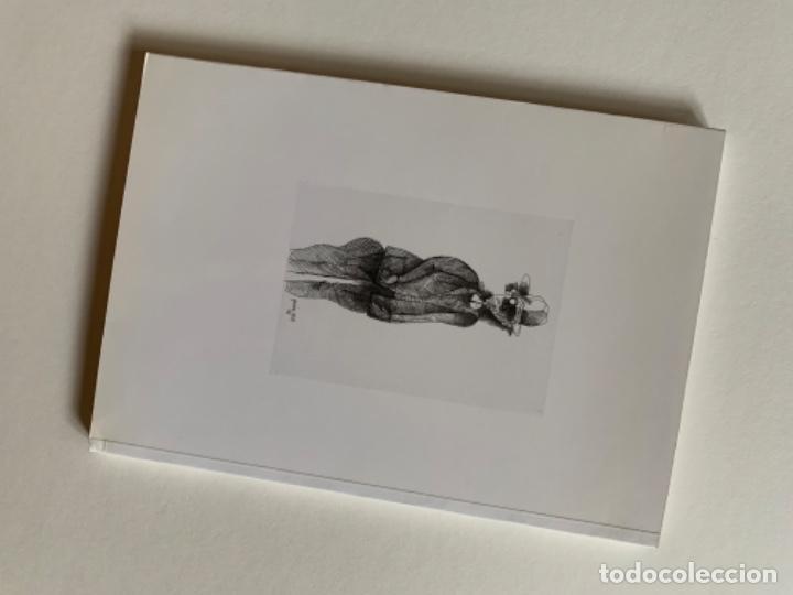 Arte: LITOGRAFÍA + LIBRO DE GARCÍA LLORT CON DEDICATORIA NUMERADA 99 DE 100 Y FIRMADA A LAPIZ 1984 - Foto 13 - 256025870