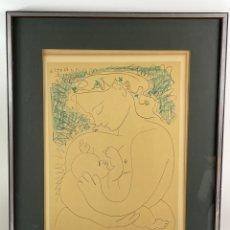 Arte: B-999. LITOGRAFIA PICASSO. 1963.. Lote 264226368