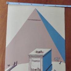 Arte: EDUARDO ARROYO -CHURCHILL,NAPOLEÓN STEINBERG SOMB - LITOGRAFÍA ORIGINAL, FIRMADA Y NUMERADA A LÁPIZ.. Lote 266366643