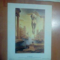Arte: LOTE DE 3 LAMINAS DEL PINTOR DALI - DE DISTRIBUCIONS D.ART RURREALISTA SA. Lote 266932204