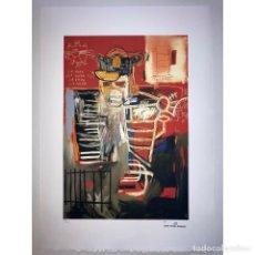 Art: JEAN-MICHEL BASQUIAT - LITOGRAFIA - UNTITLED - 1981 - 250 EX. - 50X70. Lote 267735839